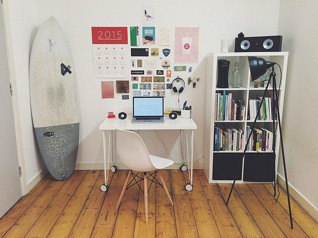Werkkamer inrichten: tips voor een fijne werkplek in huis!