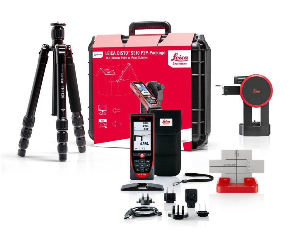Een laser meter in en om het huis gebruiken