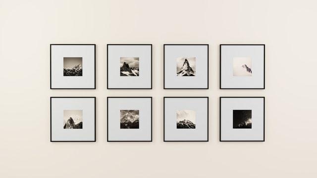 Tips voor het maken van een fotowand